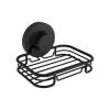Naleon Instaloc Black Soap Dish