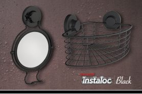 Self-Adhesive Instaloc Black Suction Range