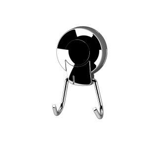 Naleon Ultraloc Chrome Double Hook