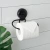 Naleon Ultraloc Black Toilet Roll Holder