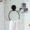 Naleon Ultraloc Black Towel Ring